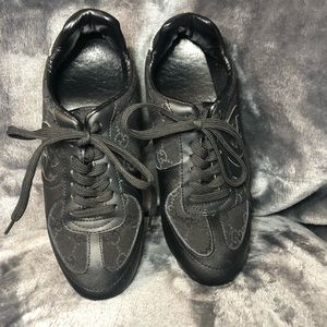Gucci black sneakers 18303